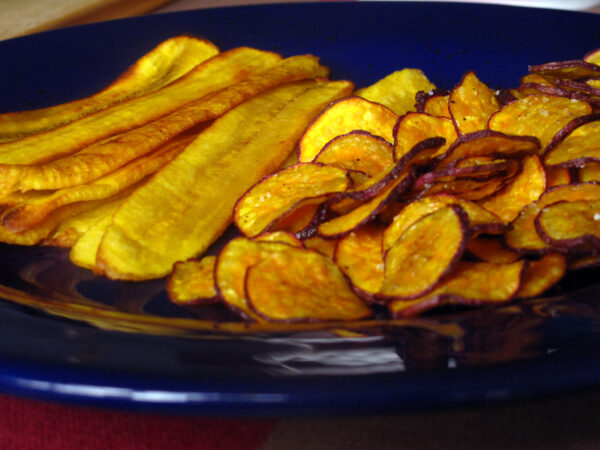 Fried Plantains; Sweet Potato Chips pg-185 (1)