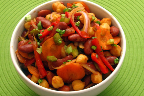 Garbanzo Kidney Bean Salad