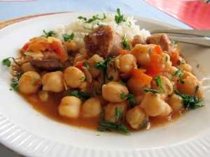 Garbanzo Sausage Stew 2