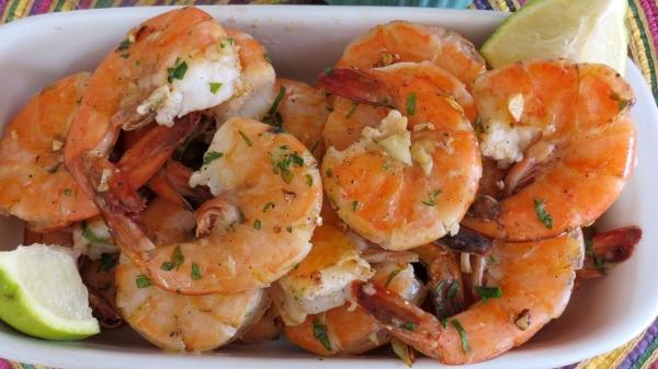 Garlic Shrimp @