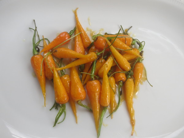 Glazed Carrots, Halloween Bark 001