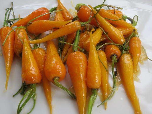 Glazed Carrots, Halloween Bark 004