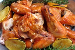 Glazed Roasted Chicken