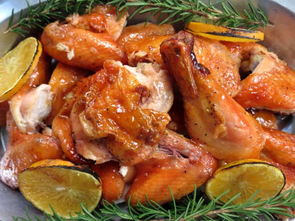 Glazed Chickens 2