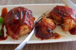 Muslos de Pollo con Tocino