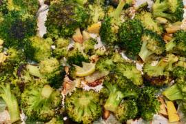 Roasted Broccoli with Lemon