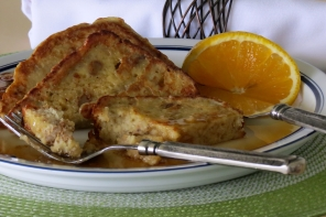 Tostada Francesa Receta (Pan de Plátano)