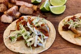 Air Fryer Pork Belly Tacos