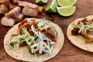 Air Fryer Pork Belly Tacos