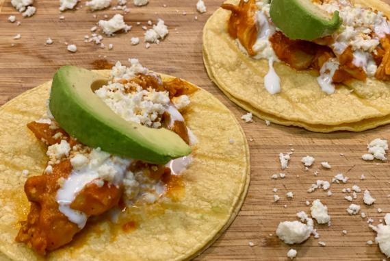 Chicken Tacos (Chicken Tinga)