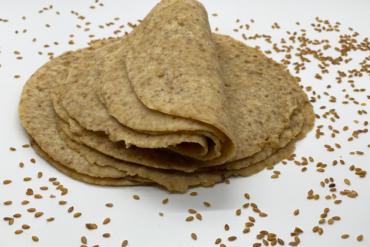 Keto Flaxseed Tortillas