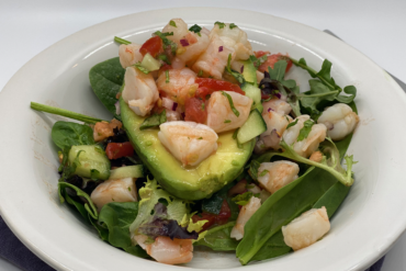 Shrimp Salad Stuffed Avocado