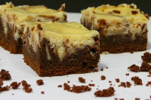 Brownies con Cheesecake