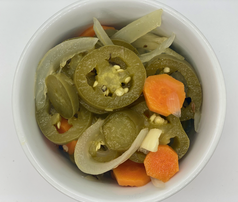 Taqueria Style Pickled Jalapeños