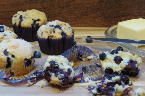 Muffins de Arandano