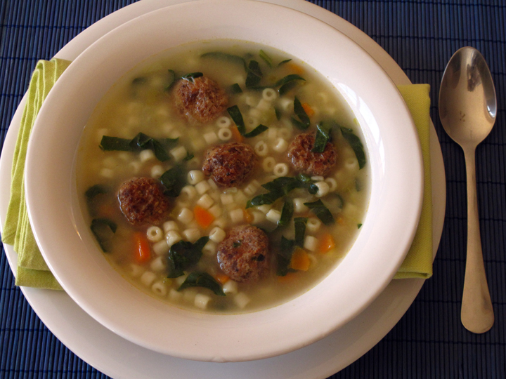 Italian Wedding Soup Recipe - The Frugal Chef