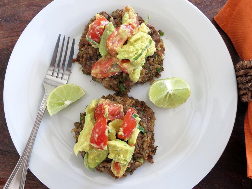 Lentil Brown Rice Pattie 3