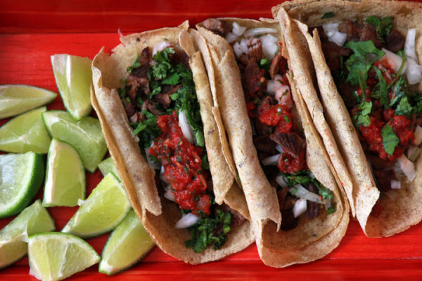 Marinated Carne Asada Tacos web