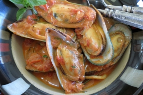 Mussel Recipe in Spicy Tomato Sauce