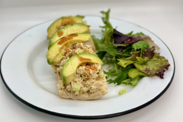 Open Faced Tuna Salad