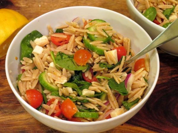 Orzo Salad 3