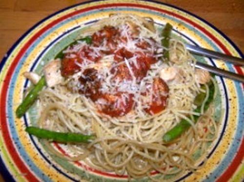 Pasta Chicken Asparagus