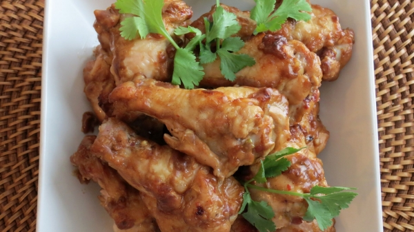 Peanut Chicken Wings