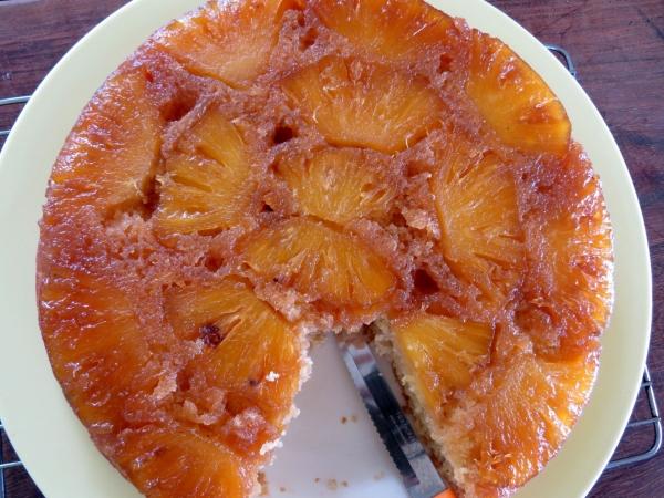 Pineapple Upside Down 3
