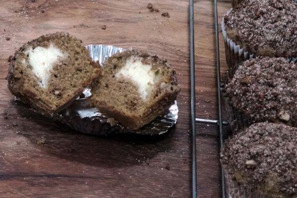 Pumpkin Cheese Cream Muffins
