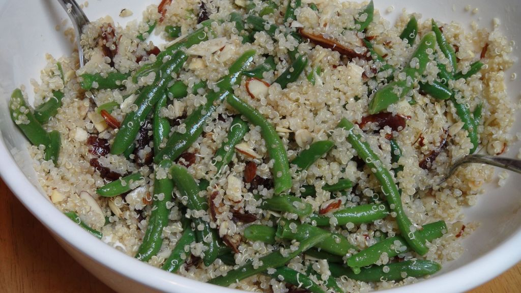 quinoa and black beans green bean avocado quinoa salad recept yummly ...