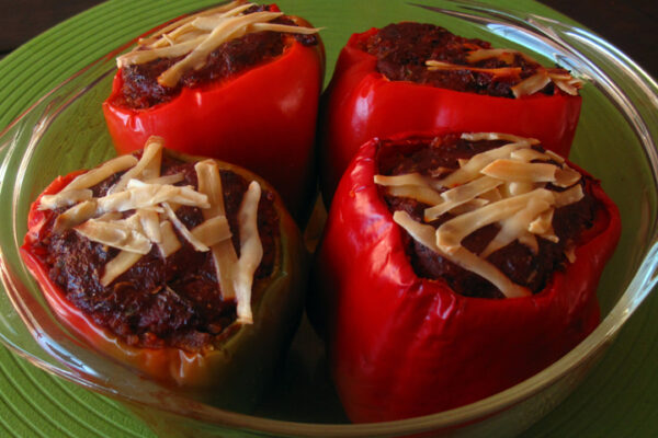 Quinoa Stuffed Bell Peppers web