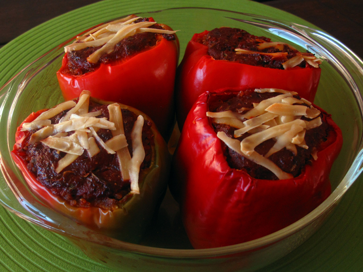 Quinoa Stuffed Bell Peppers web