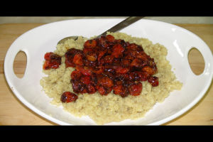 Recipes for Quinoa – Roasted Tomatoes with Quinoa