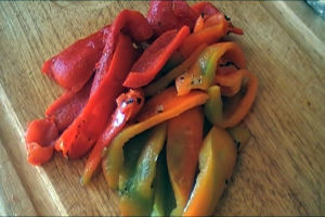How do you Roast Peppers