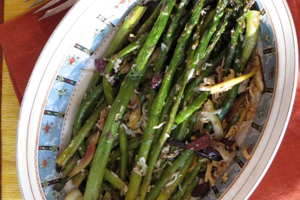 Roasted Asparagus with Lemon 2