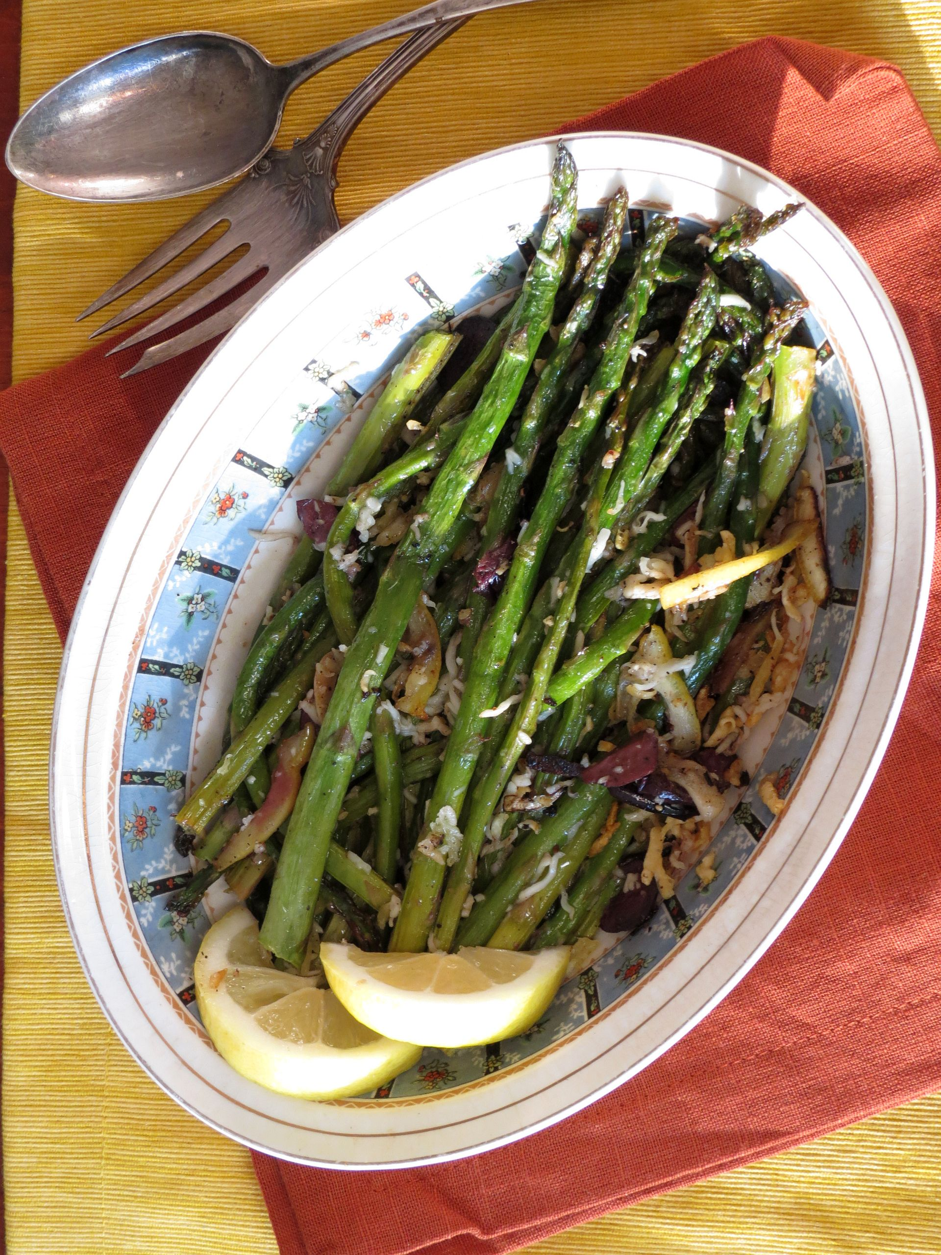 Roasted Asparagus Recipe - The Frugal Chef