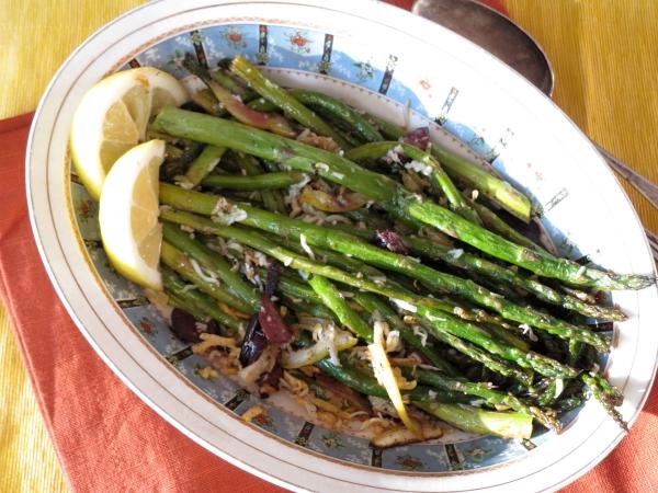 Roasted Asparagus with Lemon 3