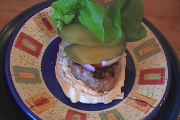 Sausage Beef Burgers