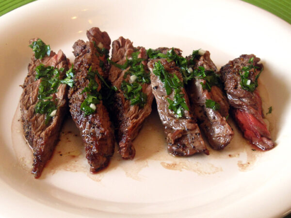 Seared Flank Steak with Chimichurri web