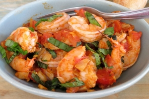Shrimp with Fennel and Tomatoes