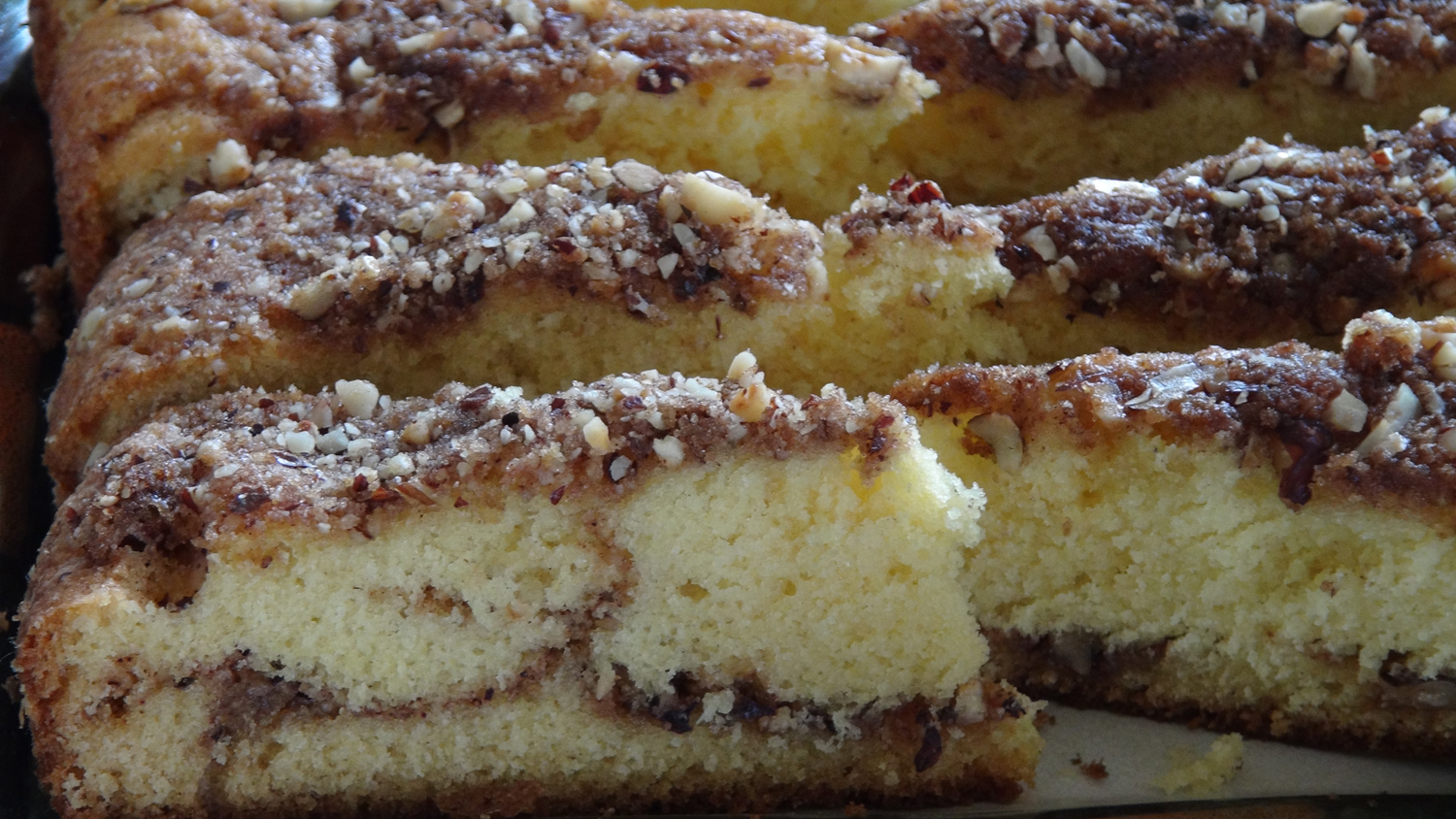 Sour Cream Coffee Cake - The Frugal Chef