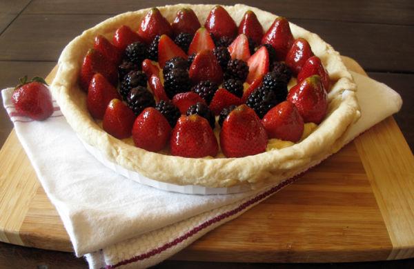 Strawberry Blackberry Tart