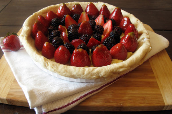 Strawberry Blackberry Tart