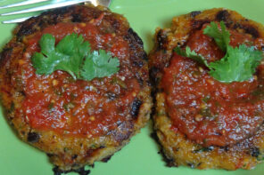 Quinoa Recipe – Sweet Potato & Quinoa Patties