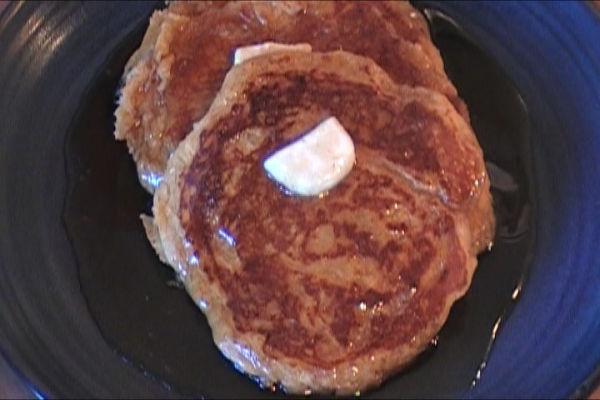Sweet Potato Pancakes 2