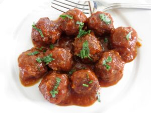 Sweet and Sour Meatballs 2