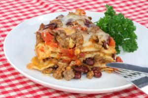 Taco Casserole – Seven Layer Taco Casserole