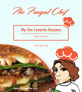 Recipe Ebook - The Frugal Chef