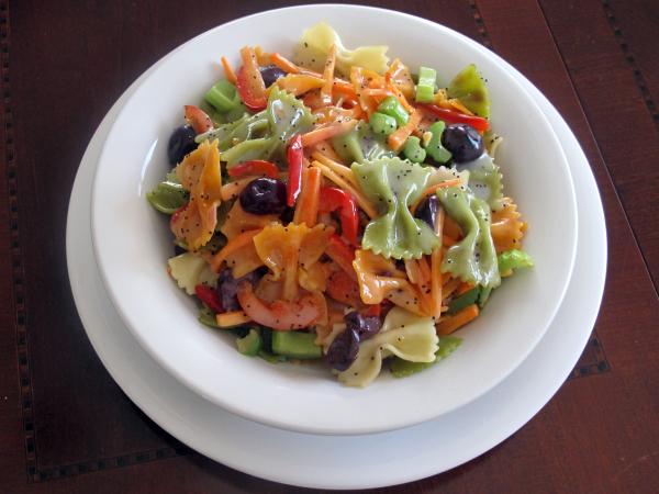 Tri-color Pasta Salad pg-48