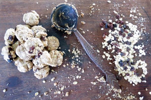 Vegan Oatmeal Cookies 2